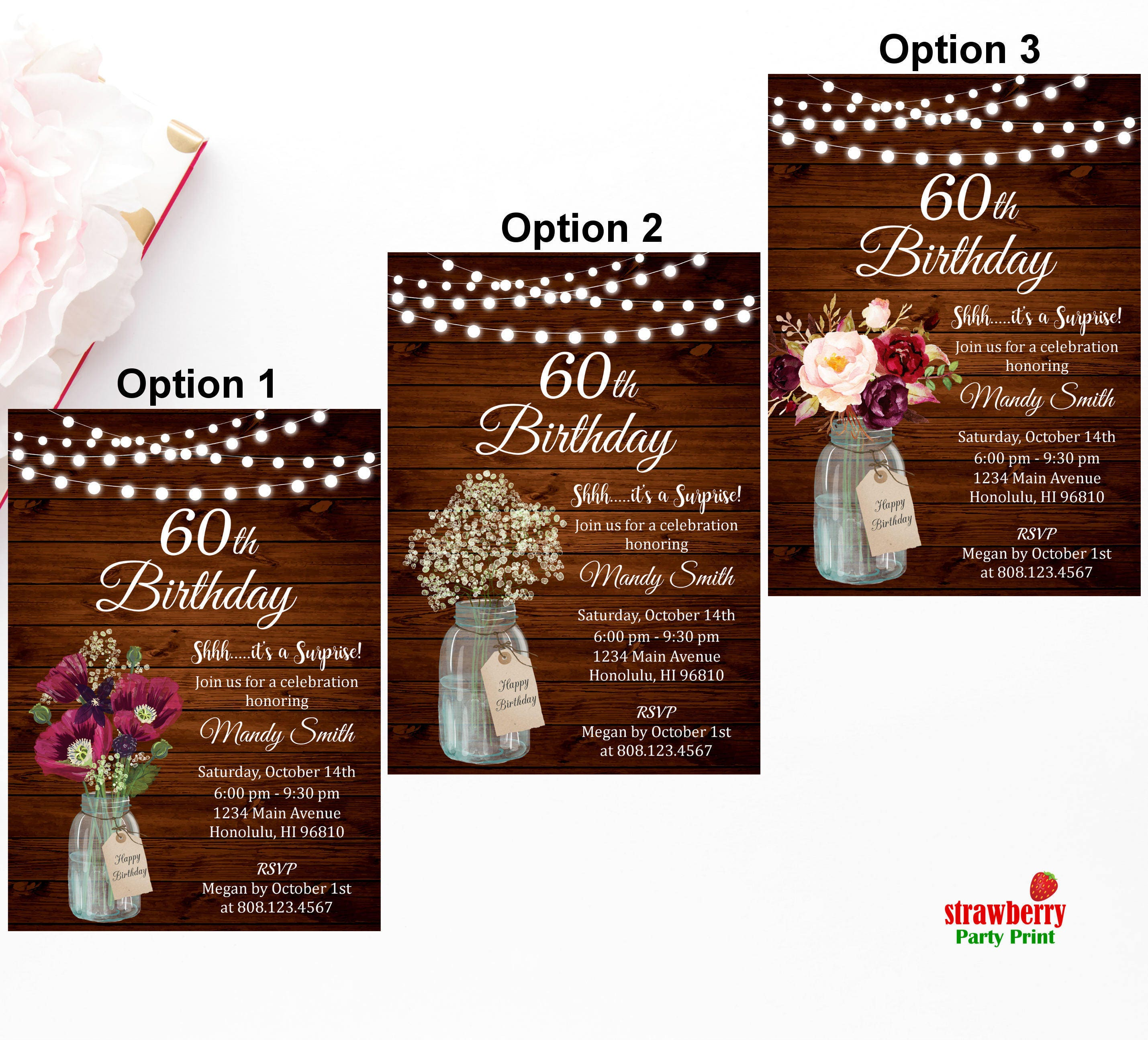 Awesome 40th birthday invitations for women ideas invitation card 40th birthday invitation for women rustic birthday invitation filmwisefo