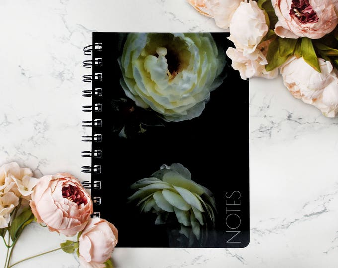 Gardener Gifts For Women, Personalized Floral Notebook