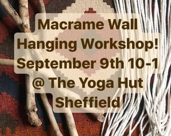 Macrame Workshop Sheffield