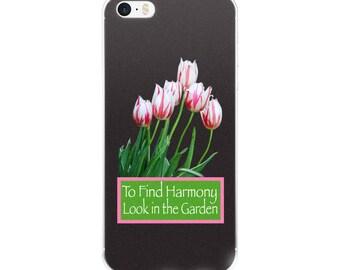 Harmony in the Garden Tulips iPhone Case