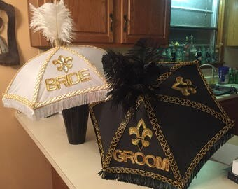 Second Line Umbrellas - Small Super Fancy