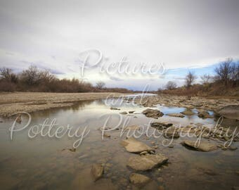 Sky in the Colorado River Photography Print