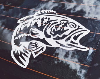 Truck Decals Etsy - Fishing decals for trucks