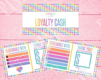 Loyalty Cash | Polka Dot | Customize