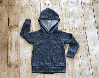 Black sweatshirt, baby sweatshirt, toddler sweatshirt