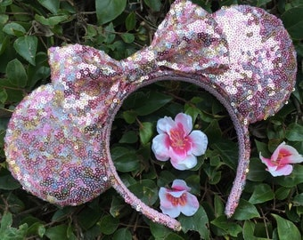 Briar Rose Gold & Silver Sequin Mouse Ears