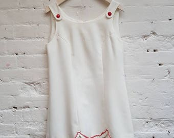 Handmade 1960s tennis dress. UK size 10 in perfect condition