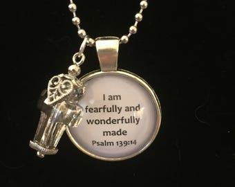 Psalm 139 necklace