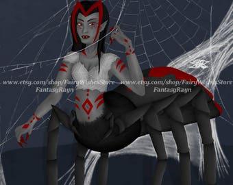Spider Queen 8x10 Print