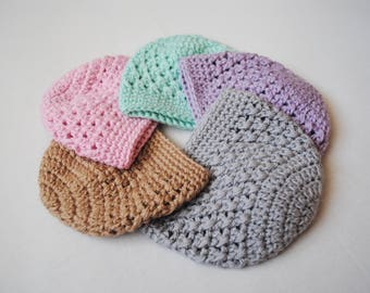 Crochet Baby Hat, Toddler Hat, Baby Girl Hat, Baby Boy Hat, Crochet Hospital Hat, Newborn Crochet Hat, Baby Beanie, Coming Home Hat