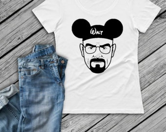 Walter White Disney Shirt