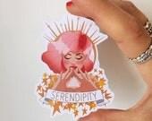 Sticker SERENDIPITY