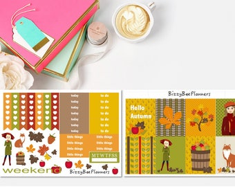 Hello Autumn Weekly Kit- ECLP-Recollections Planner