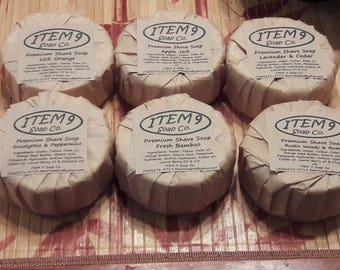 ITEM 9's Premium Shaving Soap
