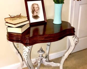 Refinished Antique Style Table