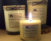 French Toast  Handmade Soy Candle| Scented Candle | Food Scent | Bakery Candle | Warm Scent | Sweet Scent | Brown Candle | Natural Candle