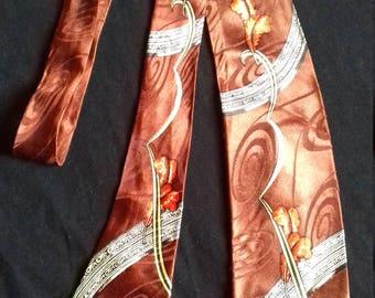 1940s / 50s Men's Vintage  Tie / make - coast to coast NATIONAL