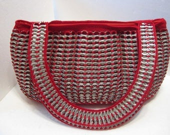 High Quality Soda Tabs Purse, Professionally made, inner liner and compartment cell pocket Made to please Taking orders.