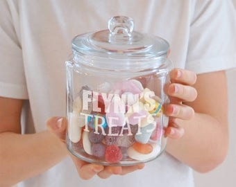 Personalised 'Treats' Jar