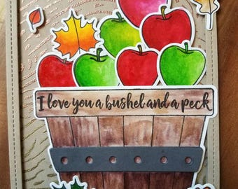 Apples, I love you a bushel and a peck