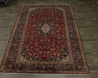 Delightful Traditional Semi Antique Mashad Persian Rug Oriental Area Carpet 8X11