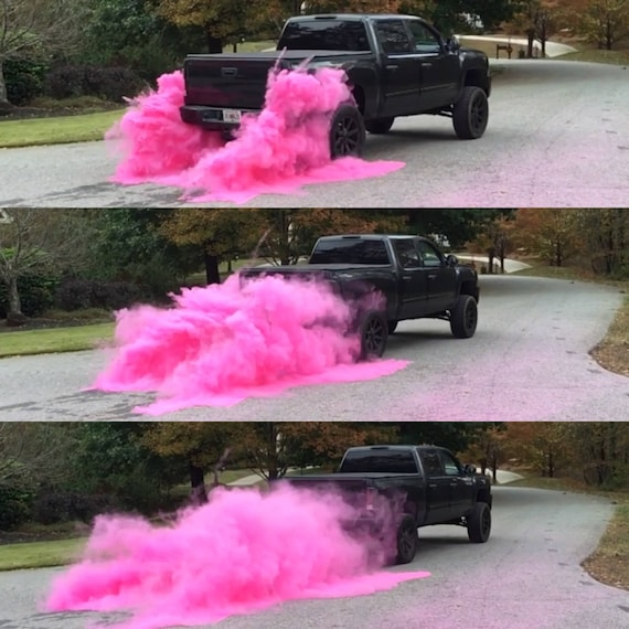 ORIGINAL BURNOUT Gender Reveal Simple Black Tire Pack for Peel Outs, Burnouts, or easy Drive Gender Reveals!