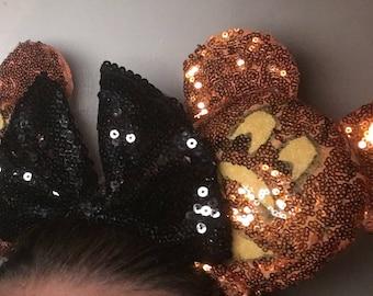 Mickey Jack O'Lantern Ears