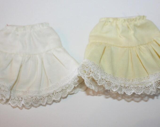 Vintage No Label Lot of 2 Skirts for Pepper Penny Skipper Dolls