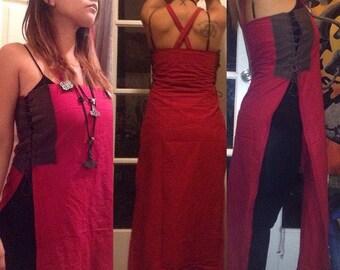 Adjustable Apron Dress