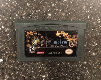 Fire Emblem The Last Promise Gameboy Advance GBA DS RPG Game Nintendo