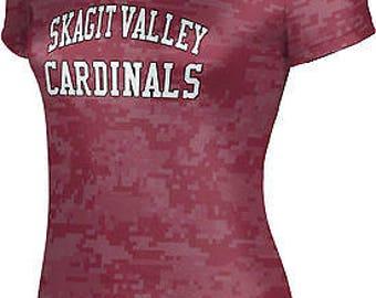 ProSphere Women's Skagit Valley College Digital Tech Tee (SVC)