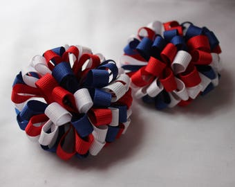 4th Of July Hair Bands/Clips