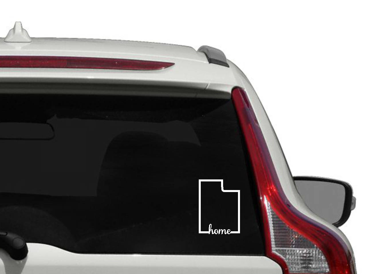 Utah Home Vinyl Decal Outline State Of Utah Car Decal Utah - Custom vinyl decals utah