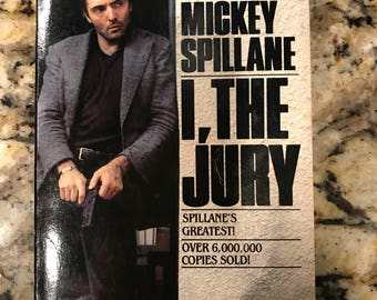 I, The Jury by Mickey Spillane // Armand Assante movie tie-in // 1977