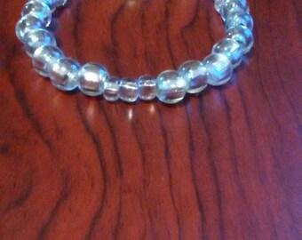 Mental Health Awareness Bracelet -Silver for Bipolar Disorder (2 for 1)