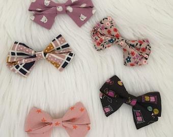 Sailor Bows | Bows | Bow Sets | Pinwheel Bows | Kitty Bows | Candy Bows | Nylon Headbands | Hair Clips | Toddler Girl Bows