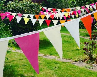 Long Wedding Bunting, Hochzeitsdekoration,Flag Prob Decoration, Bunting Banner, Party Bunting Banner, Fabris flags, Banner, Bunting, Wedding