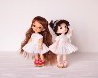 IN STOCK Smocking Dress for Lati Yellow / Pukifee 【Angel Heart】