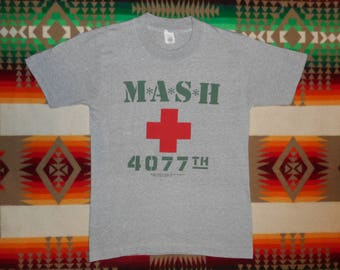 Mash Television Show Heather Grey 50/50 T Shirt