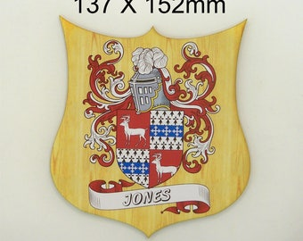 FAMILY NAME CREST. (Coat of Arms) (set 1)