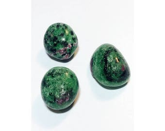 Ruby in Zoisite Crystal Set