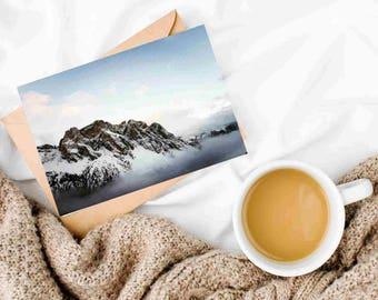 Eco Postcard Mountaintop Italy
