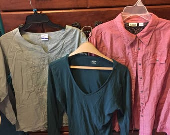 3 womens Blouses