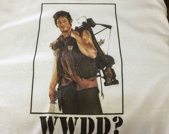 WWDD Shirt Daryl Dixon Shirt The Walking Dead T Shirt