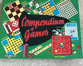 Vintage compendium of games by Spears