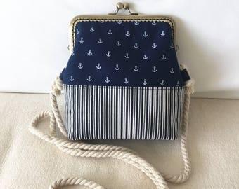 Ironing bag/shoulder bag/handbag: anchor, Maritine