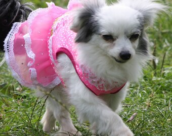 dog clothes, chihuahua, small dress