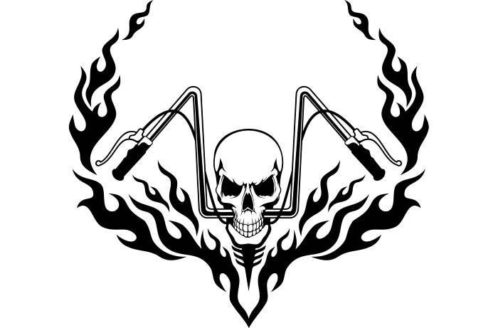 Devil Name Logo as well How To Draw A Fireball likewise Hand Painted Skulls 3074882 moreover Outlined Candy And Cake 1080910 together with Classic Car Decorations price. on how to draw a skull with flames