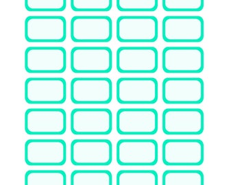 Seafoam Color Halfboxes & Quarterboxes For The EC/Recollection