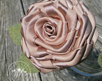 Gold Rose, Gold Flowers, Gold Wedding Flowers, Artificial Flowers, Fabric Bouquet, Fabric Rose, Holiday Decor, Christmas Floral, Eco Bouquet